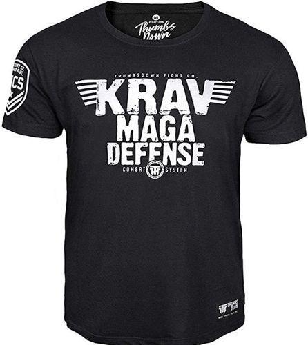 Krav Maga Defensa Camiseta Combat Sistema