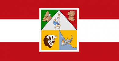 Bandera de Sonora Mexico