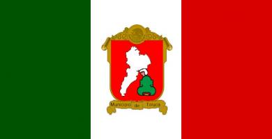 Bandera Toluca-Mexico