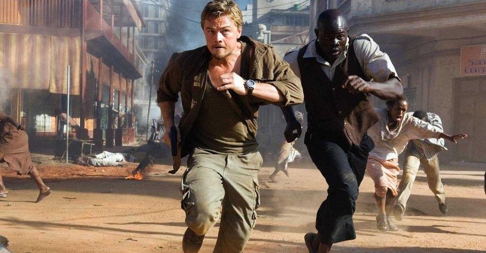 Leonard DiCaprio para su papel en Blood Diamond