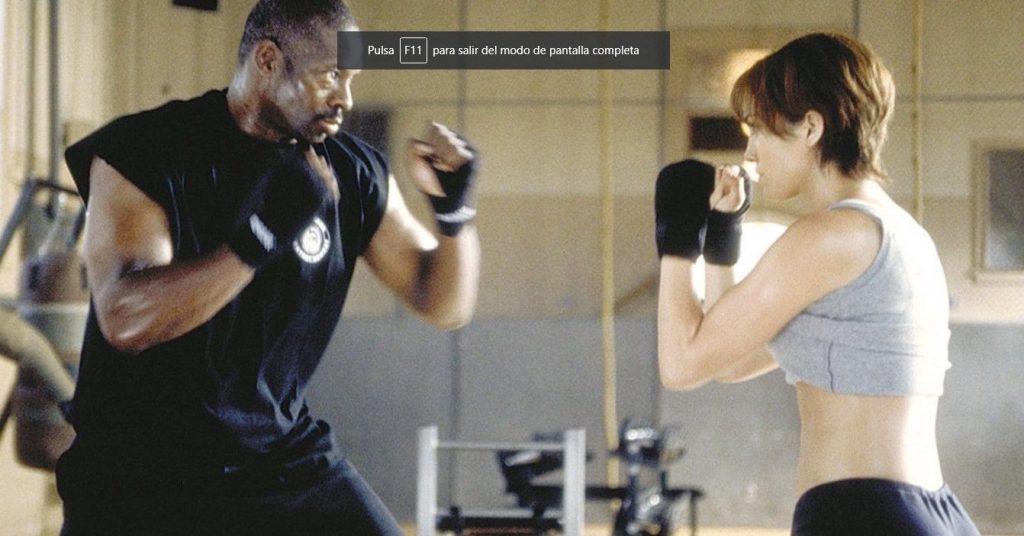 Jennifer Lopez - Nunca más - Entrenando Krav Maga
