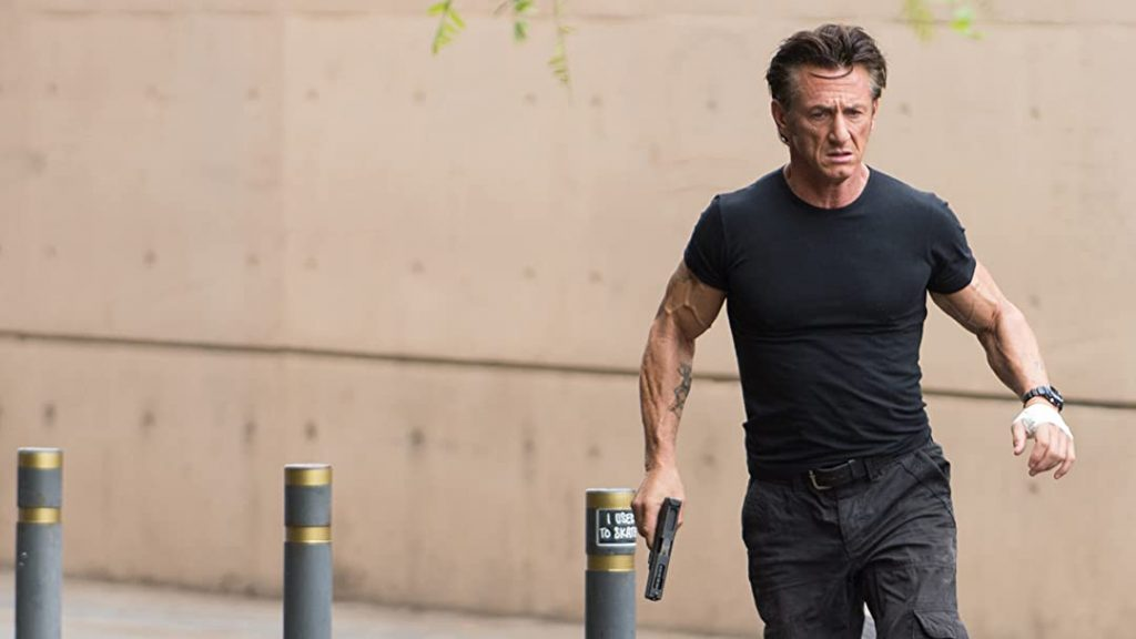 Sean Penn en The Gunmen