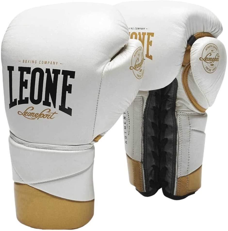 guantes de boxeo de cordones