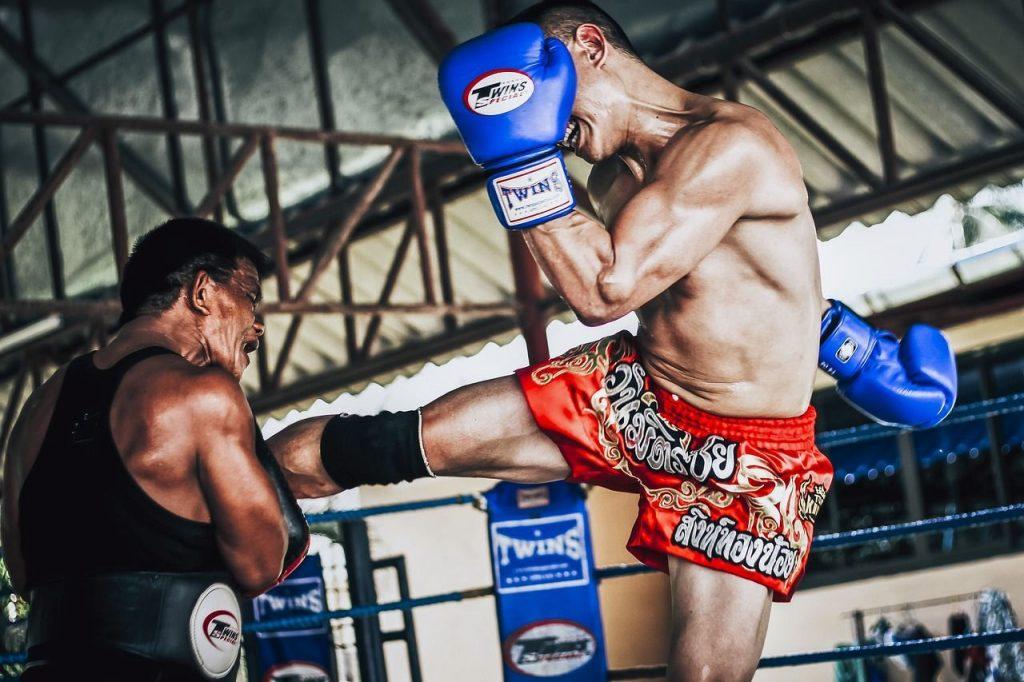 guantes de boxeo para muay thai